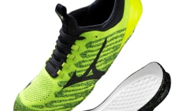 BASF and Mizuno upscale performance training shoes