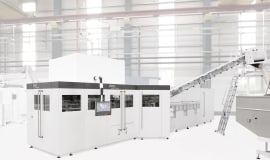 Asahi Soft Drinks in Japan relies on the InnoPET Blomax Series V stretch blow molder from KHS
