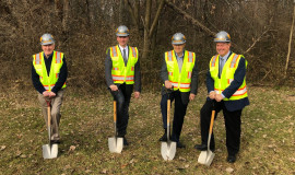 Bekum celebrates three anniversaries and breaks ground on a new facility