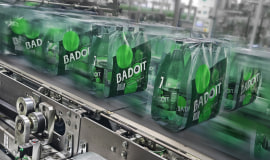KHS revolutionizes packaging processes at the Badoit mineral water bottling plant