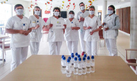 Sidel provide local healthcare players in France with bottles for hydro-alcoholic gel