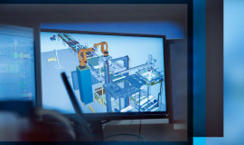 KHS lowers fault-related costs with virtual machine commissioning