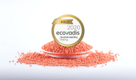 Elix Polymers obtains the EcoVadis gold medal for the fourth year running