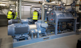Meeting sustainability targets and saving operating costs with GEA heat pump technology