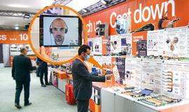 Cyfrowe targi innowacji: ponad 18 000 odwiedzających stoisko targowe igus