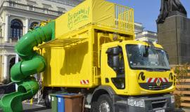 Wirtualna wystawa uczy najmłodszych o recyklingu