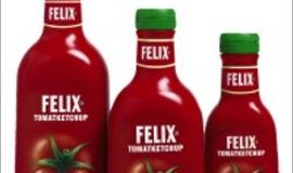 Felix - butelki z wielowarstwowego polipropylenu.