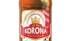 Piwo Korona Książęca w opakowaniach PET