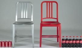 Krzesła z butelek PET