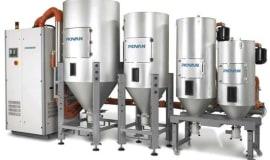System suszenia Modula firmy Piovan