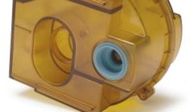 Tworzywa w medycynie - zbiornik pochłaniacza gazów  z żywicy GE Ultem
