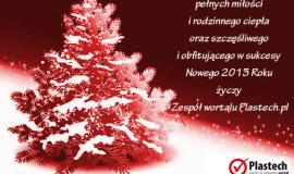 Życzenia Świąteczno-Noworoczne od Plastech.pl