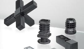 Łączniki i zaślepki profili do budowania konstrukcji