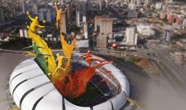 Brazylia w pigmentach Bayferrox