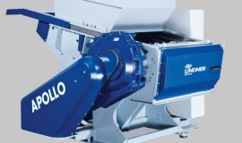Lindner expands its range of Apollo plastic shredders