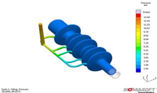 Virtual DoE of elastomer parts