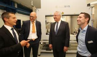 Evosys Laser GmbH celebrates move to new premises