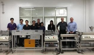 Collin liefert die erste Mikroextrusionsanlage ihrer Art nach Thailand