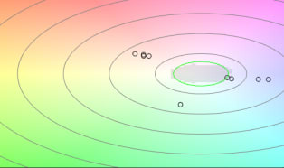 Optisches offline Prüfsystem erkennt Farbabweichungen von Kunststoffgranulaten