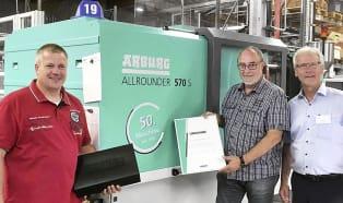 Jubileusz: 50-ty Allrounder dla firmy Glänzer
