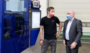 Экологичные маски из термопластичных полимеров