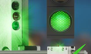 Monitorowanie zużycia według schematu sygnalizacji świetlnej