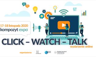 Click-Watch-Talk Kompozyt-Expo już w listopadzie
