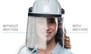 SABIC führt neue Lexan Anti-Fog Folie zur Fertigung von klar transparenten schutzvisieren
