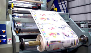 Successful recycling of printed plastic films
