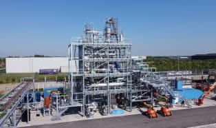 Öl aus Kunststoffabfall