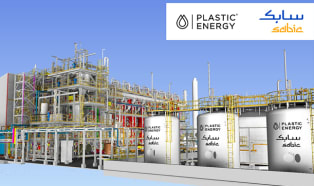 SABIC and Plastic Energy set to start construction of pionieering advanced recycling unit