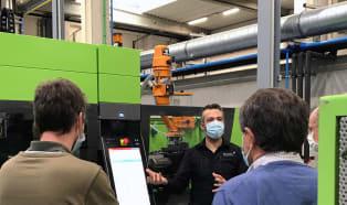 PlastIQ training centre in Belgium commissions Engel machines