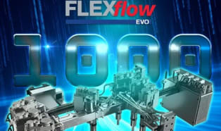 HRSflow's servo-driven hot runner systems have now passed the 1000 mark
