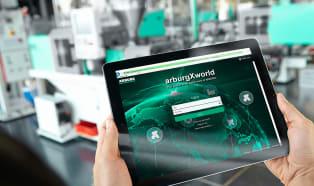 Arburg turnkey system at Hannover Messe Digital Edition 2021