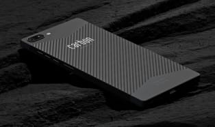 The world's first carbon fiber smartphone, developed in Germany