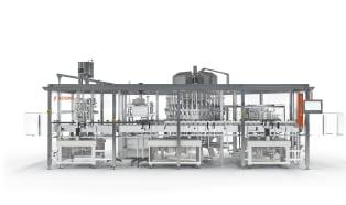 Kosme Barifill Canto: multipurpose filler for bottles and cans
