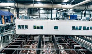 Stadler completes installation of new mechanical sorting plant
