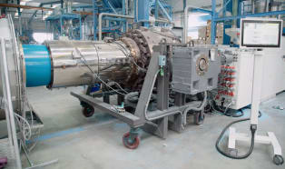 Im Wachstumsmarkt O-PVC-Rohre gut aufgestellt dank passender Anlagentechnik