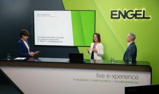 Engel przychodzi z sympozjum do swoich klientów