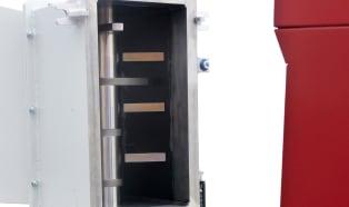 Wittmann S-Max 3 screenless granulator with additional feeding shaft