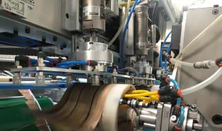 Wycinanie etykiet IML metodą zimnej ablacji