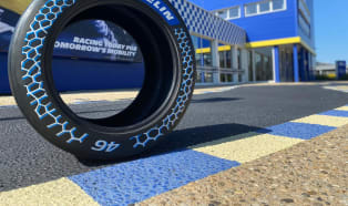 A track-proven tire with 46% sustainable content