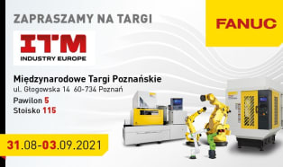 FANUC Polska na targach ITM Industry Europe 2021