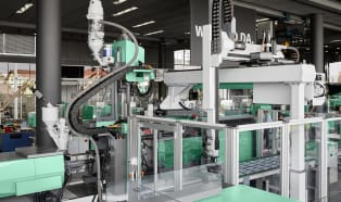 More space, modularity, and ease of use with multi-component injection moulding