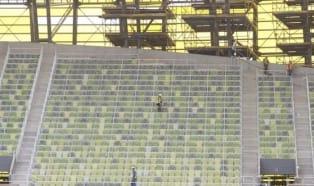 Azoty Tarnów na stadionie w Gdańsku
