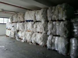 Odpady folii LDPE do