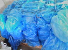 Folia LDPE niebieska