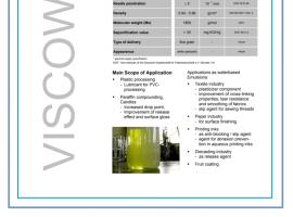 Wosk techniczny Viscowax