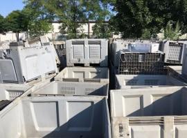 Odpad HDPE skrzyniopalety
