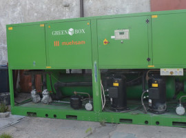 Chiller Green Box Twin